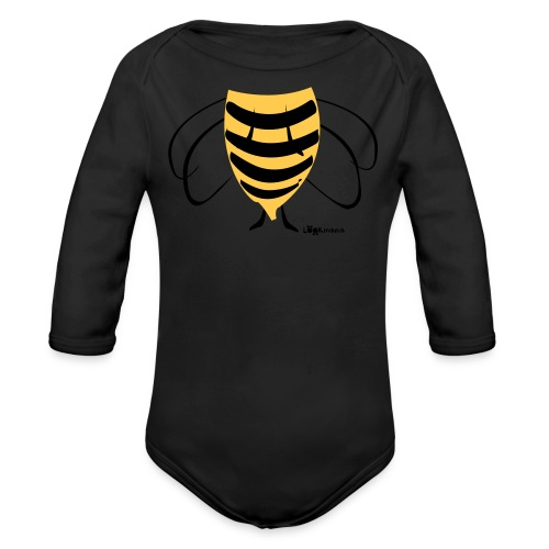 bee2 - Baby Bio-Langarm-Body
