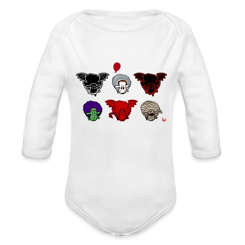 Sheepers Creepers - Organic Longsleeve Baby Bodysuit