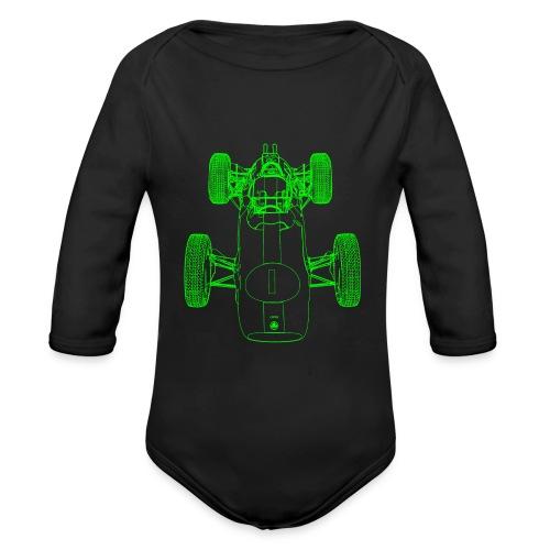 Formula Racing - Organic Longsleeve Baby Bodysuit