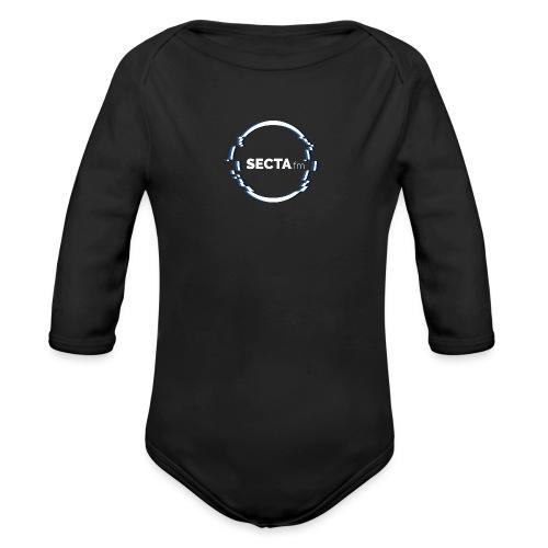 secta ring mit schriftzug - Baby Bio-Langarm-Body