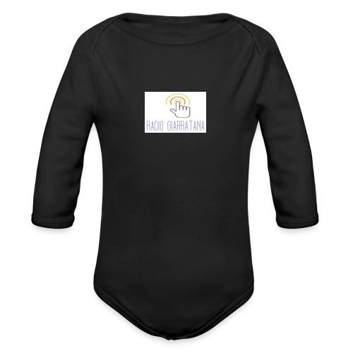 GADGET RADIO GIARRATAnNA - Body ecologico per neonato a manica lunga