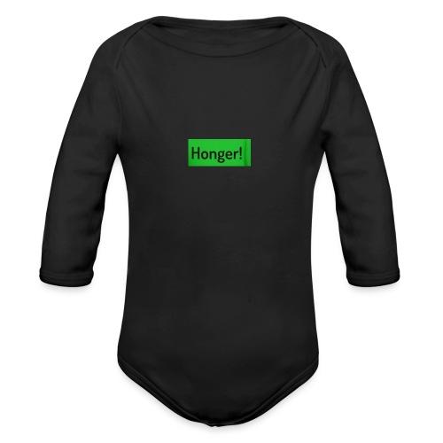 Honer - Baby bio-rompertje met lange mouwen