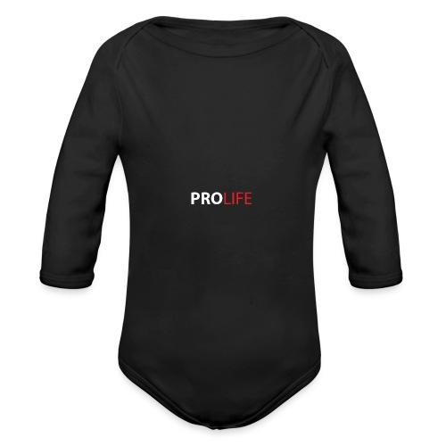 PROLIFE - Body orgánico de manga larga para bebé