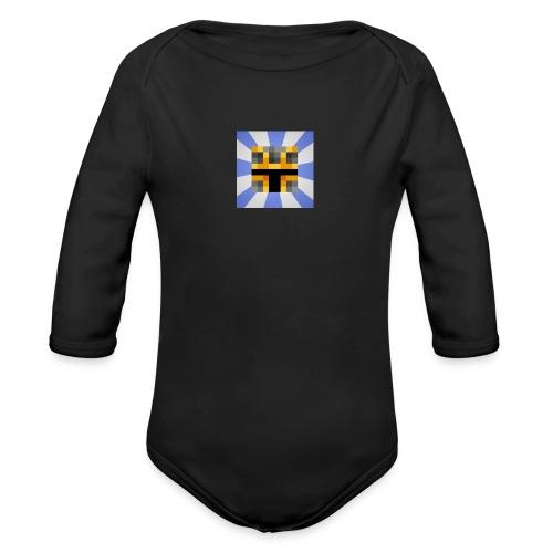 iCrazyKnight - Organic Longsleeve Baby Bodysuit