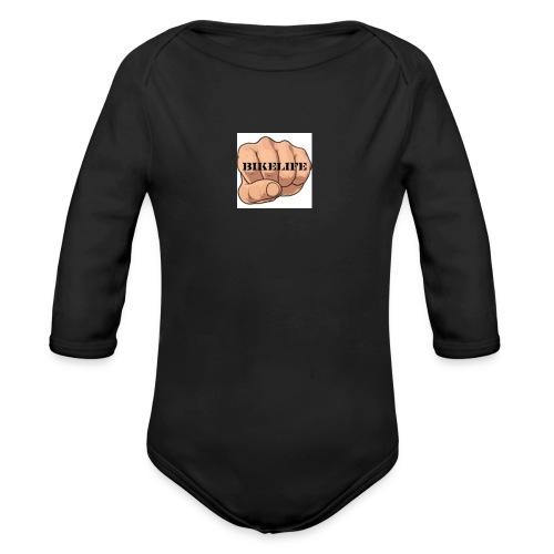 BIKELIFE - Organic Longsleeve Baby Bodysuit