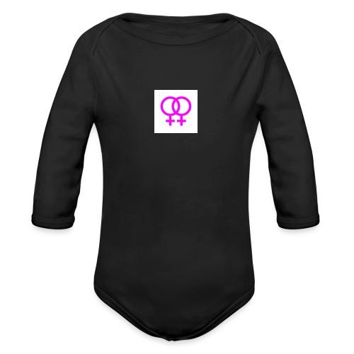 lesbian logo - Body Bébé bio manches longues