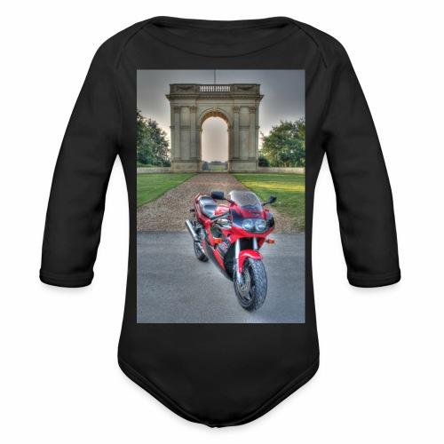 IMG 1000 1 2 tonemapped jpg - Organic Longsleeve Baby Bodysuit
