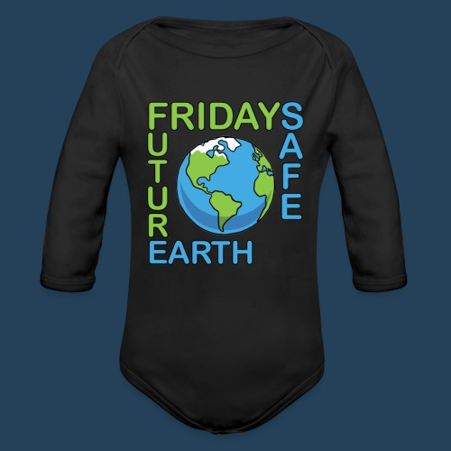 Safe Our Earth - Baby Bio-Langarm-Body
