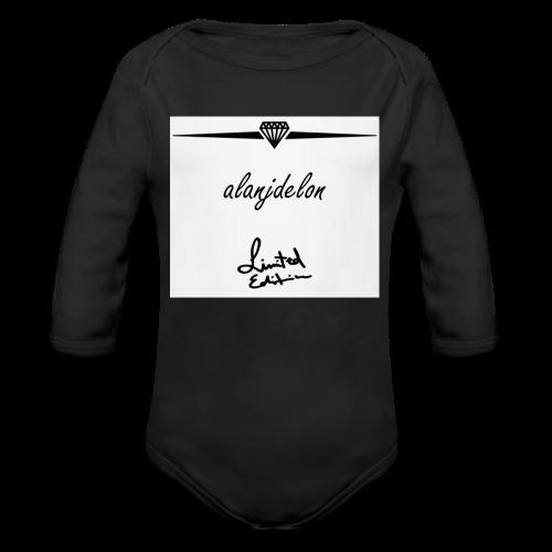 Alanjdelon - Baby Bio-Langarm-Body