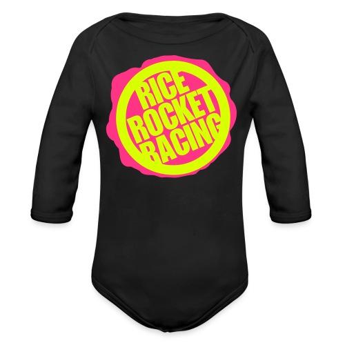 RiceRocketRacingDuo - Vauvan pitkähihainen luomu-body
