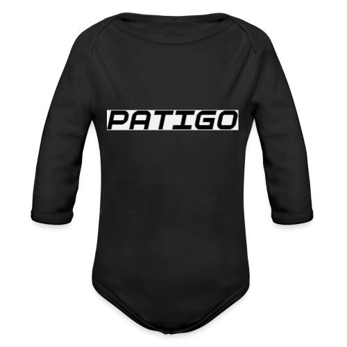 PATIGO - Langærmet babybody, økologisk bomuld