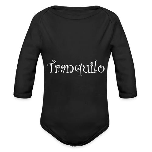 Tranquilo - Baby bio-rompertje met lange mouwen