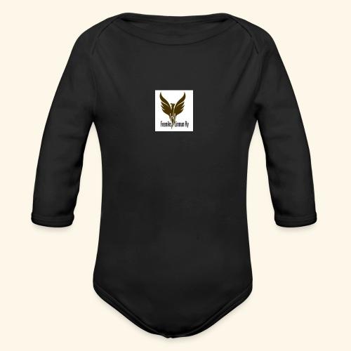 feeniks logo - Vauvan pitkähihainen luomu-body