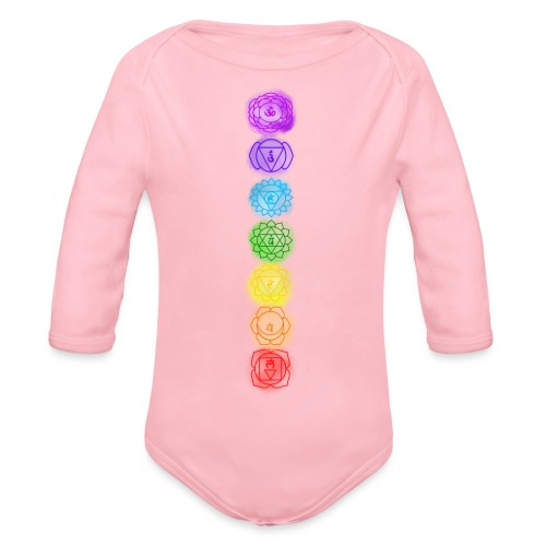 linea chakra - Body ecologico per neonato a manica lunga
