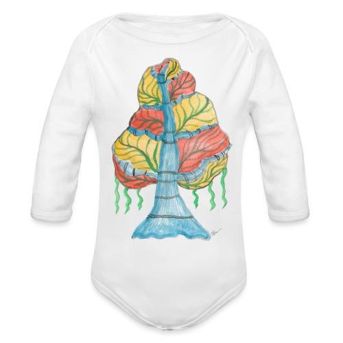 albero_alma_2015 - Body ecologico per neonato a manica lunga
