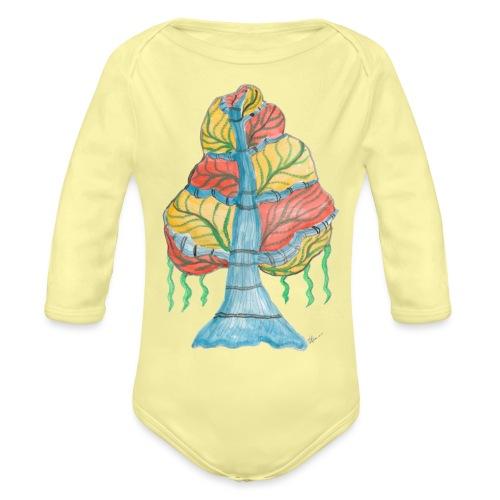 albero_alma_2015_2 - Body ecologico per neonato a manica lunga