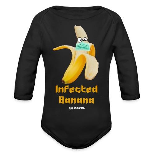 Die Zock Stube - Infected Banana - Baby Bio-Langarm-Body