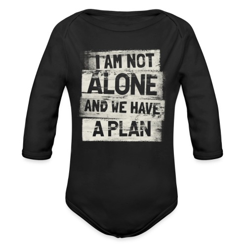 A plan - Ekologisk långärmad babybody