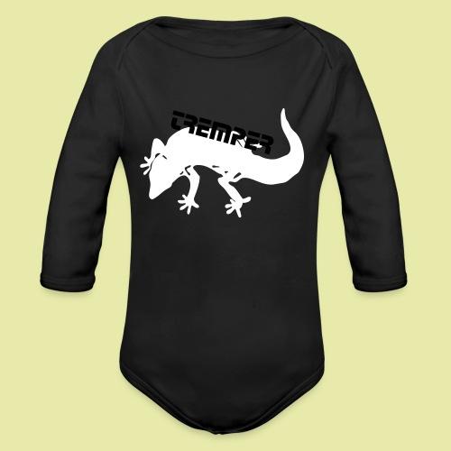 tremper_gecko_logo_einfach - Baby Bio-Langarm-Body