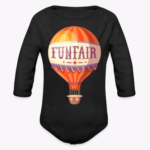 Vintage Balloon - Organic Longsleeve Baby Bodysuit