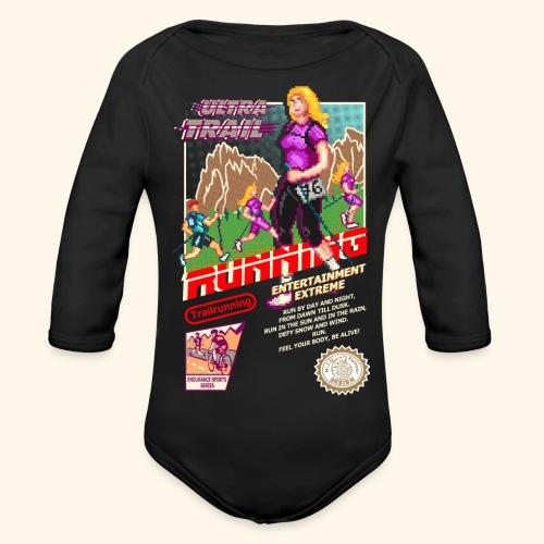 ULTRA TRAIL RUNNING (FAST GIRL) - Body ecologico per neonato a manica lunga