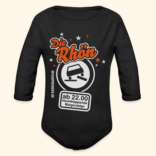 Sprüche T Shirt Die Rhön - Baby Bio-Langarm-Body