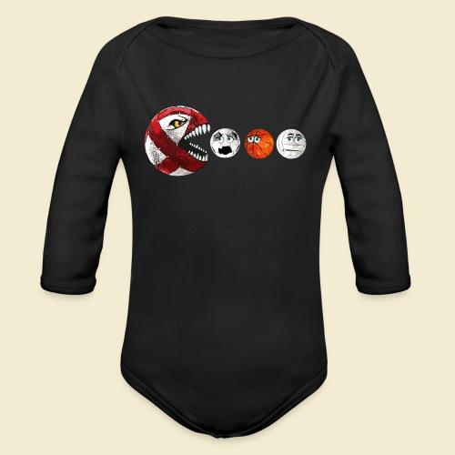 Radball | Cycle Ball RedMan - Baby Bio-Langarm-Body