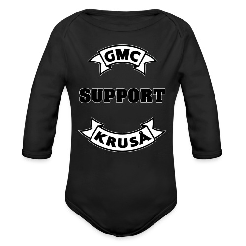 GMC SUPPORT - Langærmet babybody, økologisk bomuld