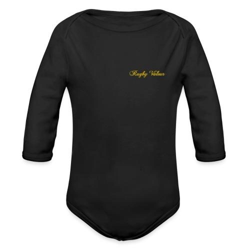 Rugby valeur 🏈 - Body Bébé bio manches longues
