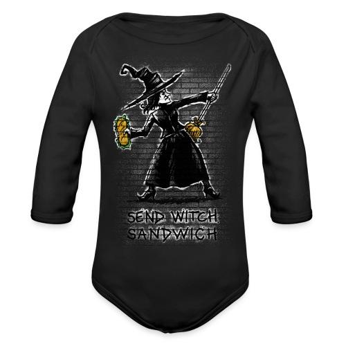 Send Witch Sandwich - Organic Longsleeve Baby Bodysuit