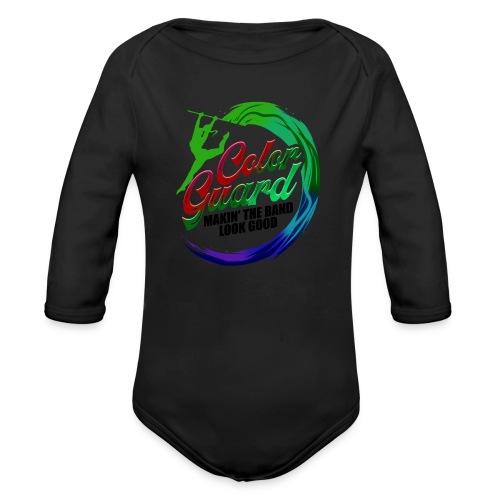 Color Guard Gift Makin' the Band Look Good - Organic Longsleeve Baby Bodysuit