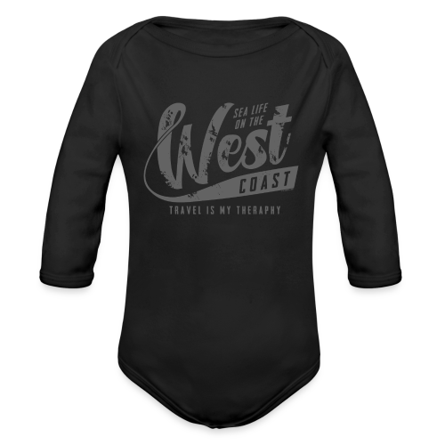 West Coast Sea surf clothes and gifts GP1306B - Vauvan pitkähihainen luomu-body