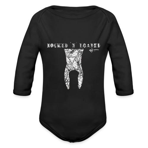 Nocked `n´ Loaded - Baby Bio-Langarm-Body