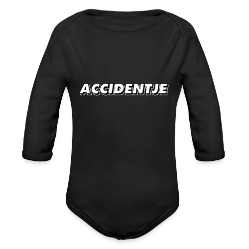 accidentje - ongelukje - Body Bébé bio manches longues