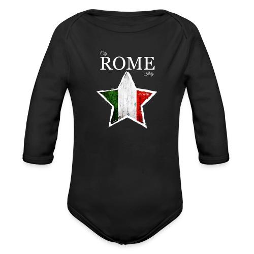ROME - Organic Longsleeve Baby Bodysuit