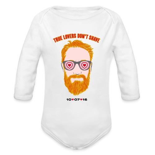 tru lovers - Body ecologico per neonato a manica lunga