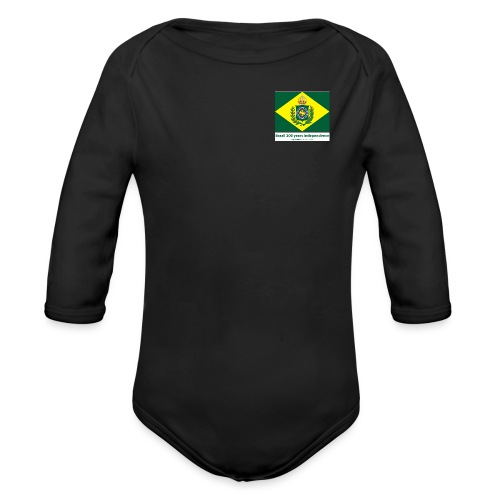 Brazil 200 years independence - Økologisk langermet baby-body