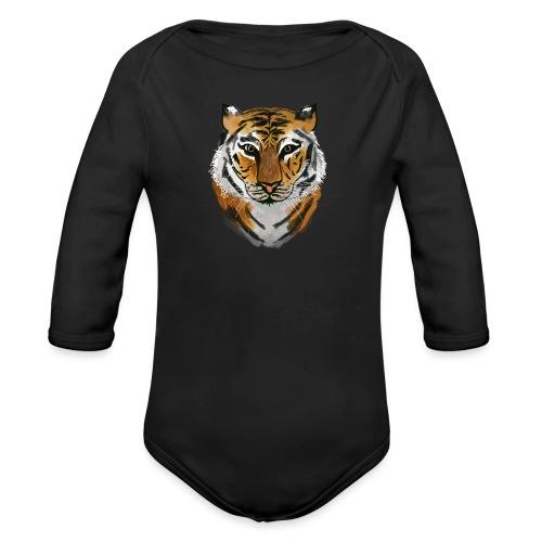 Tiger - Baby Bio-Langarm-Body