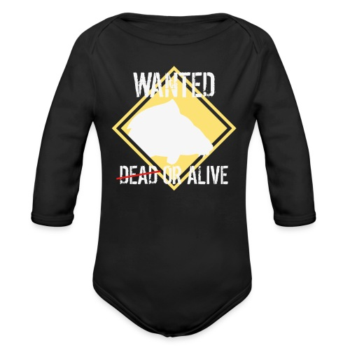 Wanted dead or alive - Baby Bio-Langarm-Body