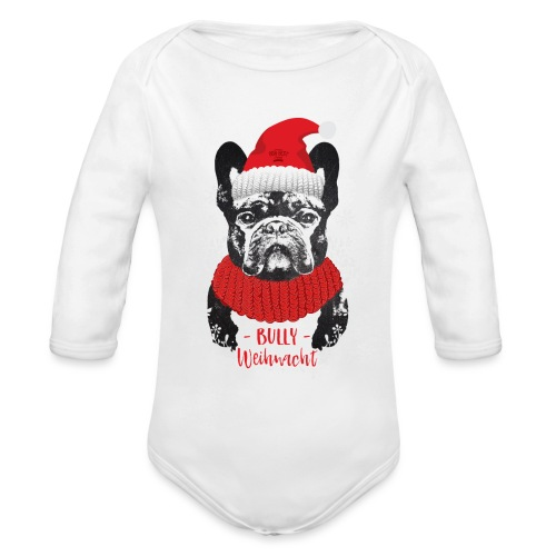 Bully Weihnacht Part 2 - Baby Bio-Langarm-Body