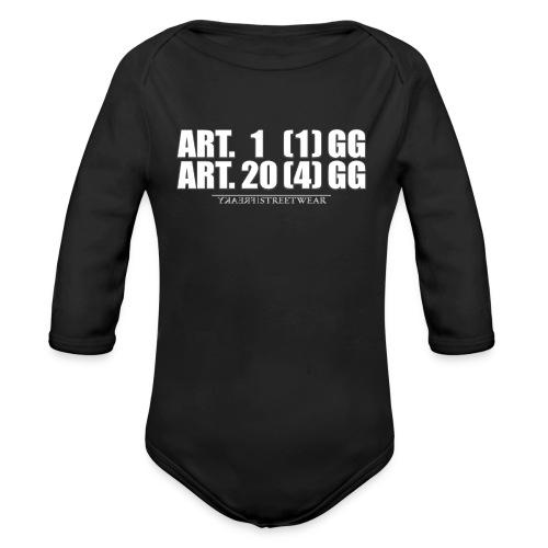 Artikel 1& Artikel 20 - Baby Bio-Langarm-Body