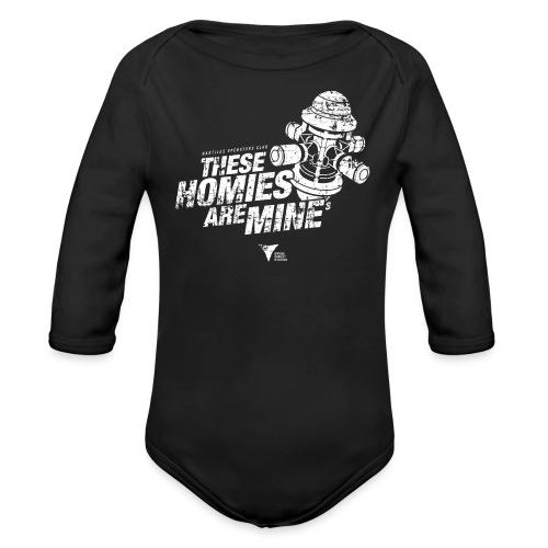These Homies are Mine - Baby Bio-Langarm-Body