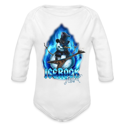 Snowman Evil - Baby Bio-Langarm-Body
