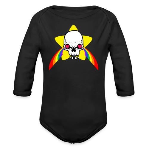 CandySkull - Body Bébé bio manches longues