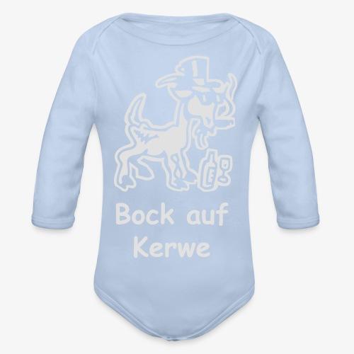 Bock auf Kerwe - Baby Bio-Langarm-Body