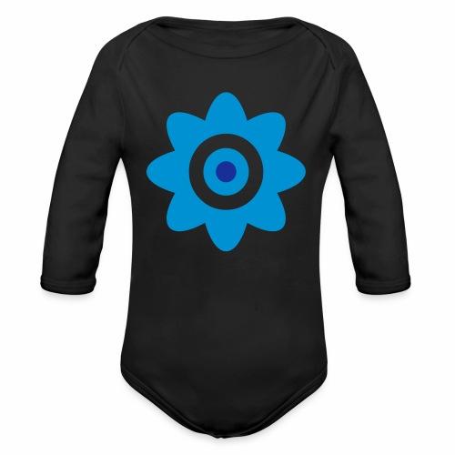 A plain flower - Organic Longsleeve Baby Bodysuit