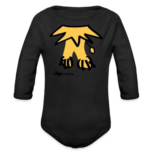 lion - Baby Bio-Langarm-Body