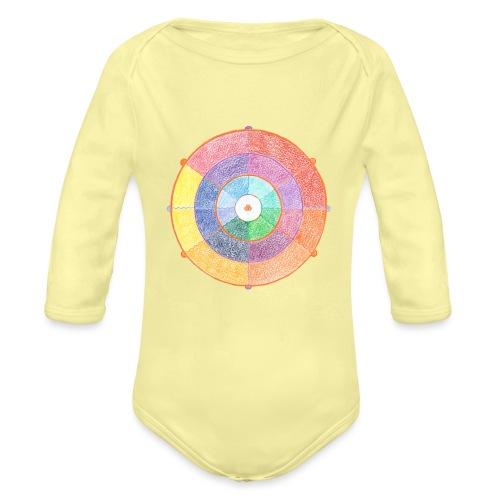 Creativity Rainbow originale png - Body ecologico per neonato a manica lunga