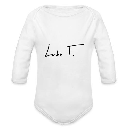 Labo T. - white - Body Bébé bio manches longues