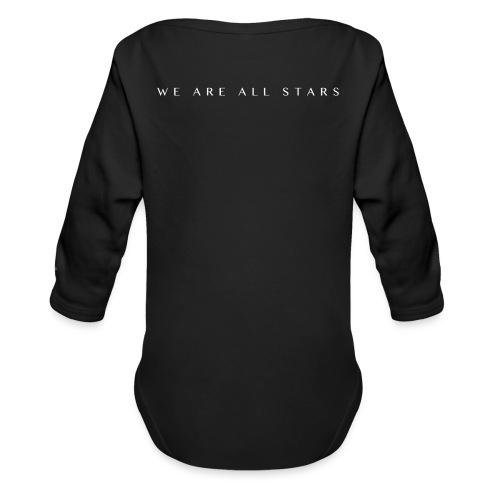 Galaxy Music Lab - We are all stars - Langærmet babybody, økologisk bomuld